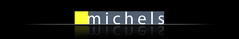 Roel Michels website header
