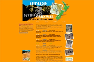 Otago Mountainbike orienteering event website
