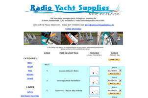 Radio Yacht Supplies New Zealand